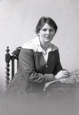 Female portrait; 757