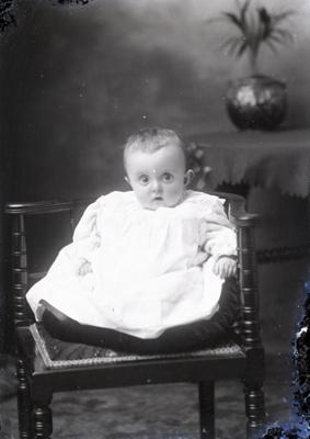 Baby portrait; 578