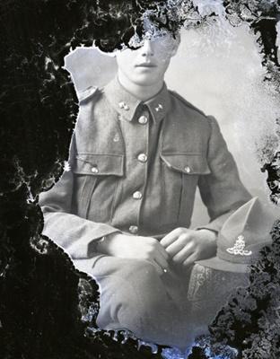 World War One soldier; 488