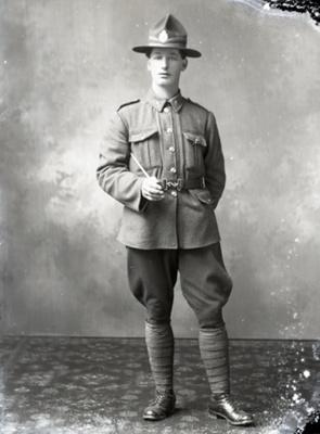 Soldier portrait; 258