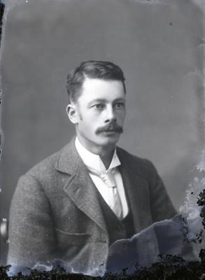 Male portrait; 98
