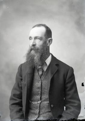Male portrait; 77