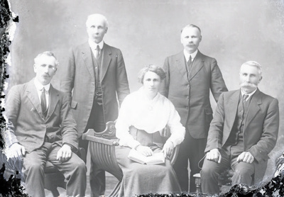 Family group photograph; 266