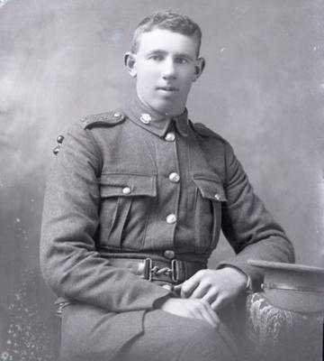 Soldier portrait; 252