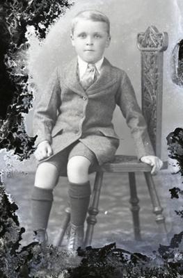 Boy portrait; 446