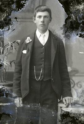 Male portrait; 753