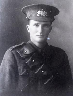 World War One soldier; 703
