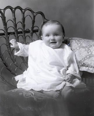 Baby portrait; 321