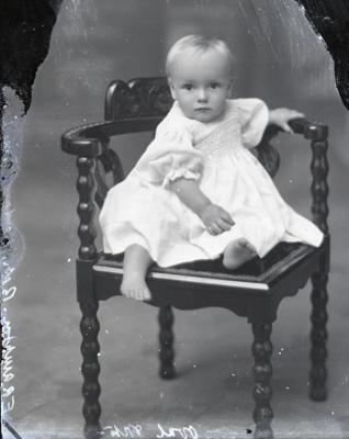 Baby portrait; 26