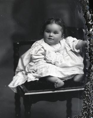 Baby portrait; 15