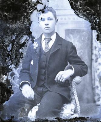 Male portrait; 30