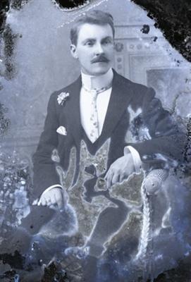 Male portrait; 751