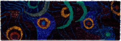 Painting with Feathers on Canvas; Nepia, Moana; 2003; 314i