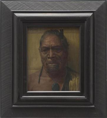Planning Revenge: Portrait of Hori Pokai, Goldie, Charles Frederick, 1921, 153a