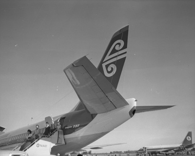 Air New Zealand Boeing 737; Mannering and Associates Limited; 08/117/1793