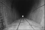 Photograph of tunnel near Swanson; Les Downey; 1972-1976; 14-2033