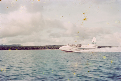 "Slide from the ""Pacific Islands Coral Route"" by Maurice McGreal; Maurice E. McGreal (b.1918); 1950s; 04/038/037"