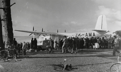 TEAL Empire Class; Whites Aviation Limited; 28 Jul 1948; 14-5556