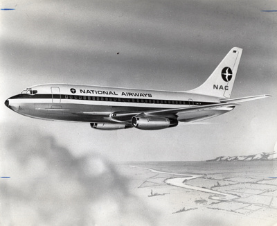 NAC Boeing 737; National Airways Corporation (New Zealand, estab. 1947, closed 1978); 1967; 14-5466