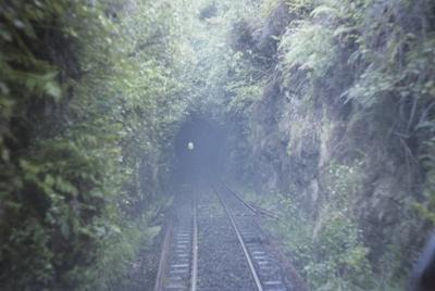 Photograph of Ahuroa tunnel; Les Downey; 1972-1976; 14-4181