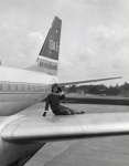 Air New Zealand promotional photograph; Unknown Photographer; 1966; 14-6106