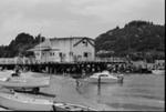 Photograph of Whitianga wharf; Les Downey; 1973; 14-1982