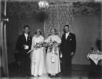 Wedding portrait; Unidentified; 1930s; 13-2065