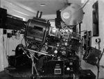 The projection room at the Embassy Theatre; J G McGuire; 1930s; 13-2031