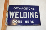 Sign [Oxy-Acetone Welding]; Scott Brothers Limited; 2013.481