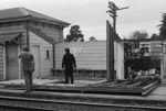 Photograph of Waitakere station building; Les Downey; 1973; 14-1361
