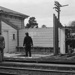 Photograph of Waitakere station building; Les Downey; 1973; 14-1361