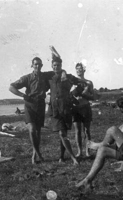 New Zealand Flying School trainees at Kohimarama; Unidentified; 10-0913
