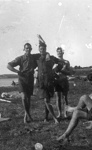 New Zealand Flying School trainees at Kohimarama; Unidentified; 10-0913