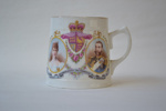 Souvenir Cup [Coronation of King George V and Queen Mary, June 22nd 1911]; Taylor & Kent (England, estab. 1867); 1911; 2011.86