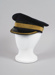 Uniform Hat [Station Master's Cap]; New Zealand Rail, Hills Caps Limited (New Zealand, estab. 1875); 2014.322
