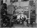 Motion picture projection room; J G McGuire; 1930s; 13-2271