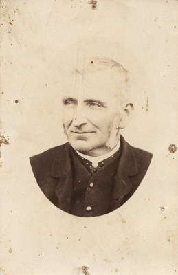 Photograph of Alice Tolputt's grandfather; Unidentified; 13-1078