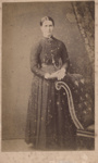 Photograph of a woman; Unidentified; 13-1063