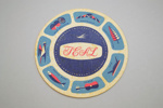 Coaster [Teal]; Tasman Empire Airways Limited (New Zealand, estab. 1940, closed 1965); 2002.82.8