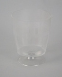 Wine Glass [NAC]; A.H.L. Plastic Products Moulding Co.; National Airways Corporation (New Zealand, estab. 1947, closed 1978); 2016.149.3