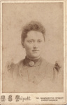 Studio portrait of unidentified young woman; T. S. Tolputt; 13-1060