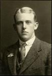 Black and white studio portrait of Harold Haddyn Smith; Circa 1918; 04/071/022
