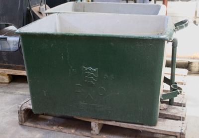 Cannonball Container [Horse trough]; Circa 1856; 1970.93.2