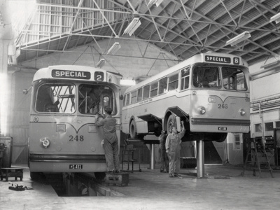 Diesel bus assembly; Graham C. Stewart (b.1932); 08/092/078