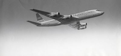 Air New Zealand DC8; Unknown Photographer; Unknown; 14-6016