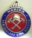 Badge [Napier NZ Fire Service]; 1982.53.17