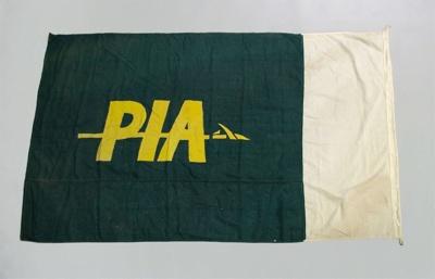 Flag [Pakistan International Airways]; Pakistan International Airways (Pakistan, estab. 1955); 1982.252.37