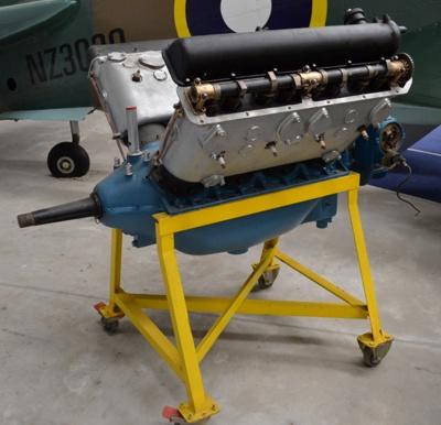 Aeroplane Engine [Hispano Suiza]; Circa 1915; 2011.232