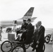 Air New Zealand DC8 at the opening of Mangere; Whites Aviation Limited; 24 Nov 1965; 14-6041
