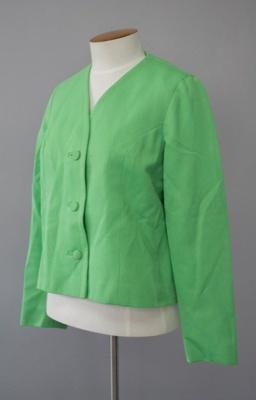 Uniform Jacket [National Airways Corporation]; National Airways Corporation (New Zealand, estab. 1947, closed 1978); 1970-1976; 2016.35.21